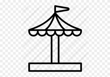 Merry Go Round Free Icon - Circus png image transparent background