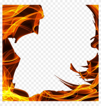 Square Transparent Png Stickpng - Frame Of Fire Png png image transparent background