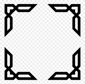 Clip Art Transparent Architecture Vector Abstract - Islamic Frame Png png image transparent background