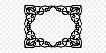 Borders And Frames Celtic Knot Celts Ornament Picture - Free Celtic Frame Vector png image transparent background