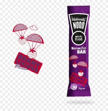 Cocoa & Orange Tango Berry Licious Flavour - Naturally Nood Bar Berry Licious 4pk png image transparent background