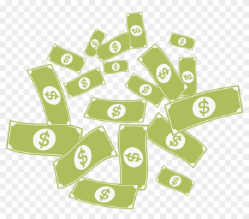 Online Casino Money Great Lakes Energy - Raining Money Vector Png png image transparent background