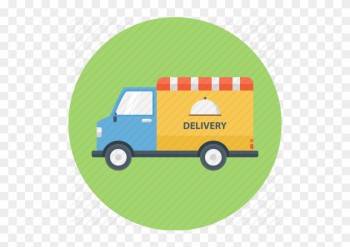 Delivery Clipart Food Truck - Food Truck Delivery Png png image transparent background