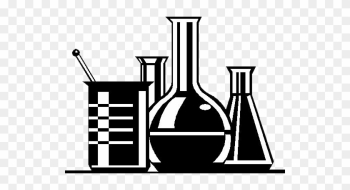 Pharmacy Medical Clipart - Lab Clipart Black And White png image transparent background