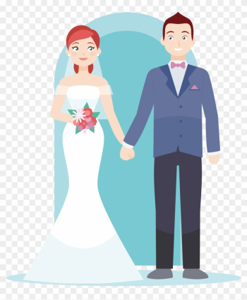 Wedding Invitation Couple Bride Marriage - Green Lovely Cute Inlove Couple png image transparent background