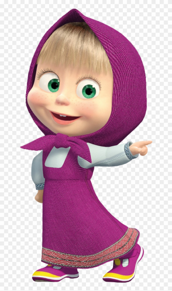 Masha And The Bear Clip Art - Masha And The Bear Png png image transparent background