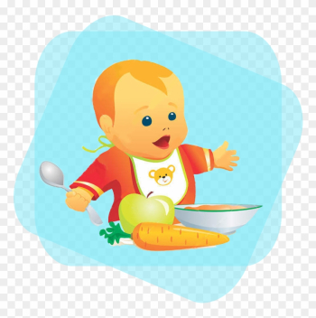 Right Food - Baby Food Cartoon Png png image transparent background