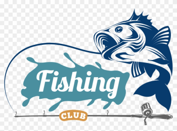 Logo Fishing Angling - Logo Bass Fish Vector png image transparent background