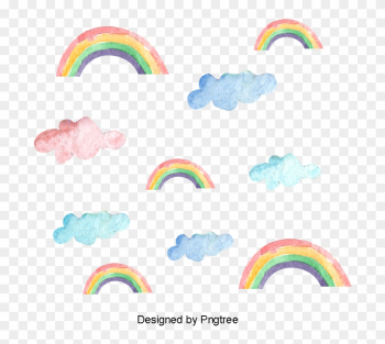 Rainbow Printing, Watercolor Rainbow Printing, Color - Rainbow Printing, Watercolor Rainbow Printing, Color png image transparent background