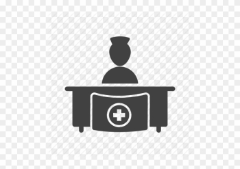 Medical Office Icon Clipart Doctor's Office Computer - Hospital Reception Clip Art png image transparent background