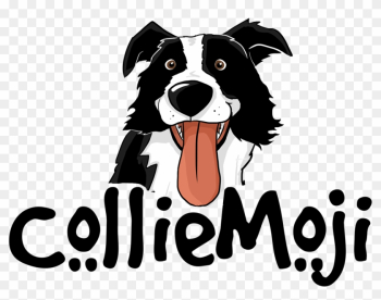 The Official Border Collie Emojis & Stickers - Border Collie Emoji png image transparent background