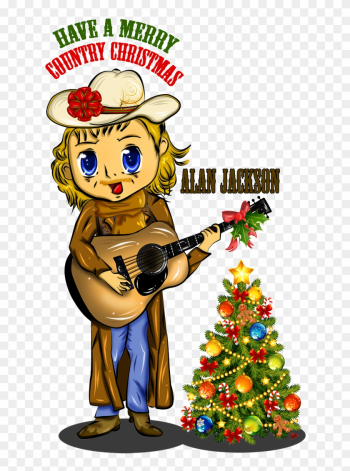 A Merry Country Christmas By Dk-darkkitty - Cartoon png image transparent background