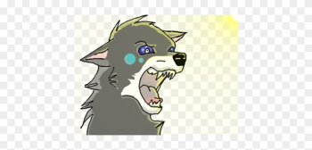 Clipart Walking Laptop - Wolf Art Drawing On Computer png image transparent background