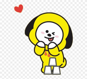 Bts Youtube Face Yourself Music Download Song - Chimmy Bt21 png image transparent background