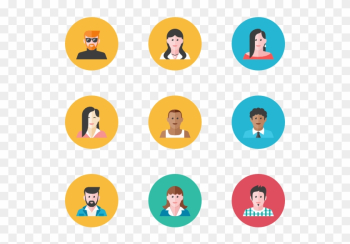 Everyday People - People Profile Icon png image transparent background