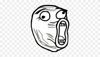 Rage Comic Stickers For Imessage Messages Sticker-8 - Lol Meme Face Png png image transparent background