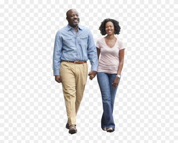 Vectors - Black People Walking Png png image transparent background