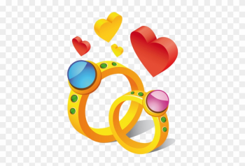 Wedding Ring Clip Art Pictures Free Clipart Images - Cute Stickers For Whatsapp png image transparent background