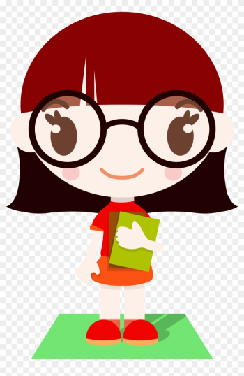 Clipart Girl With Glasses Cliparts Free Download Clip - Nerd Girl Clipart png image transparent background