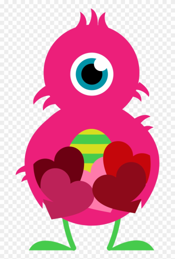 Clipart Valentine Valentine Clip Art For Kids - Yellow Pink And Purple png image transparent background
