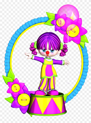 Clowns Clip Art - Birthday Clown Girl Clipart png image transparent background