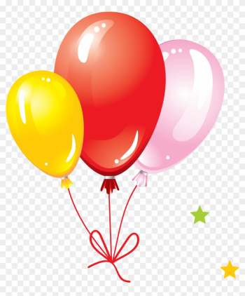 Balloon Png Image, Free Download, Balloons - Birthday With Balloons And Cake png image transparent background