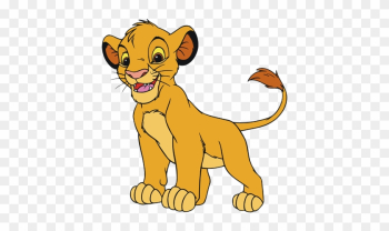 Cub Simba Clipart - Lion King Characters Simba png image transparent background
