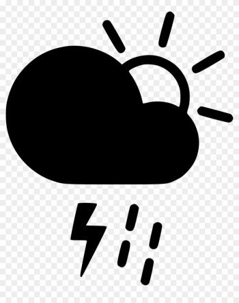 Day Thunderstorm Cloud Lightning Rain Shower Sun Comments - Weather Forecasting png image transparent background