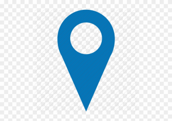 Location Pin Icon - Google Maps Blue Marker png image transparent background