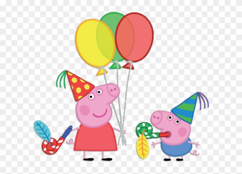 Balloon Clipart Peppa Pig - Peppa Pig Party png image transparent background