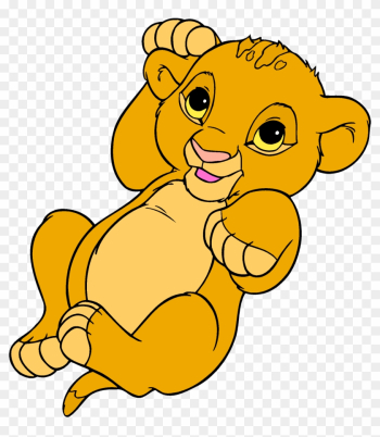 Simba Nala Lion Clip Art - Baby Simba Lion King png image transparent background
