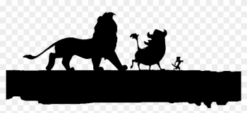 Lion King Tree Silhouette - Lion King Hakuna Matata Silhouette png image transparent background