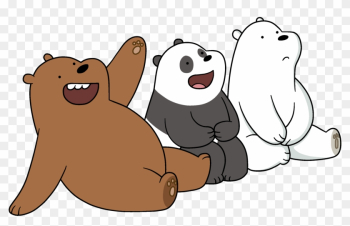 Polar Bear Giant Panda Grizzly Bear Cartoon Network - We Bare Bears Vector png image transparent background