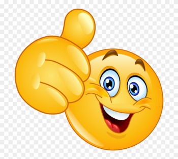 Thumbs Up Smiley Face png image transparent background