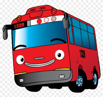 Bus Car Motor Vehicle Mode Of Transport - Tayo The Little Bus Png png image transparent background