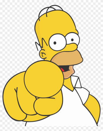 Homer Simpson Png - Homer Simpson I Want You png image transparent background