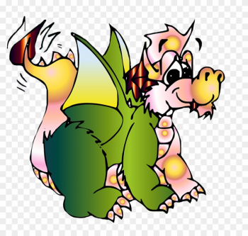 Cute Baby Dragon - Cartoon Baby Dragons Png png image transparent background