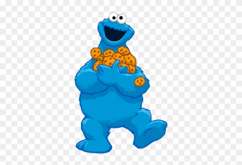 Cookie Monster - Sesame Street Cookie Monster Cartoon png image transparent background