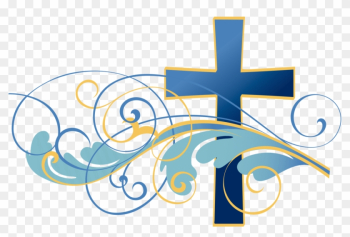 Image Of Christian Cross Clipart Baptism Cross Clip - Religious Funeral Clip Art png image transparent background