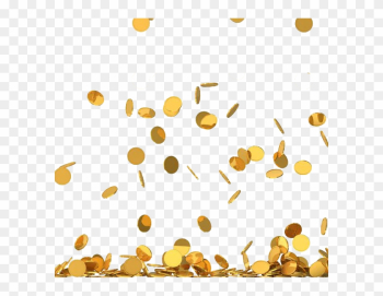 Coin Stock Photography Royalty-free Clip Art - Gold Coins Falling Png png image transparent background