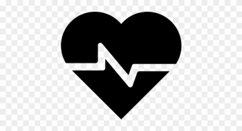 Health And Health, Health, Medical Icon - Cardiovascular Black And White png image transparent background