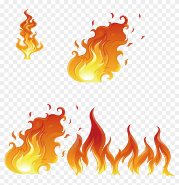 Flame Euclidean Vector Fire Illustration - Flame png image transparent background