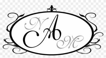 I Like The Second One Better Because The Initials Are - Wedding png image transparent background