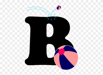 English Alphabet With Picture Letter B, 26 English - Alphabet png image transparent background