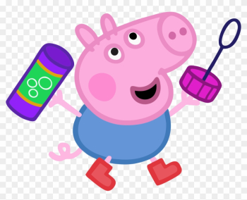 Daddy Pig Muddy Puddles Clip Art - Peppa Pig George Png png image transparent background