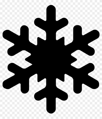 Snowflake Computer Icons Font Awesome Clip Art - Snowflake Silhouette png image transparent background