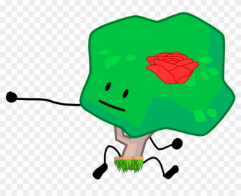 Hawaii Tree - Battle For Bfdi Tree png image transparent background