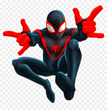 Spider-man Clipart Transparent - Spiderman Miles Morales png image transparent background