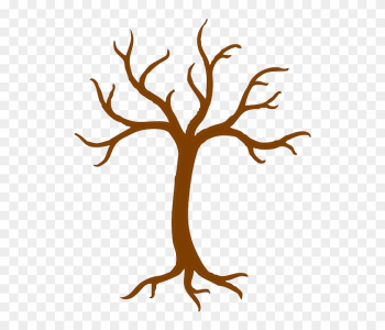 Editable Tree For Handprints - Tree Trunk Clipart png image transparent background