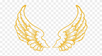 Gold Wings Clip Art - Angel Wings With Halo png image transparent background